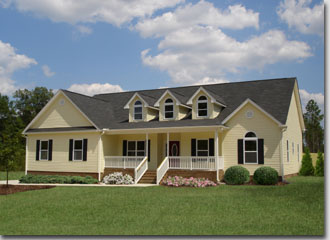 NC new home model - by Madison Homebuilders